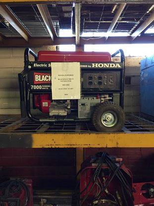 Picture of BLACK HAWK 7000W GENERATOR - SOLD